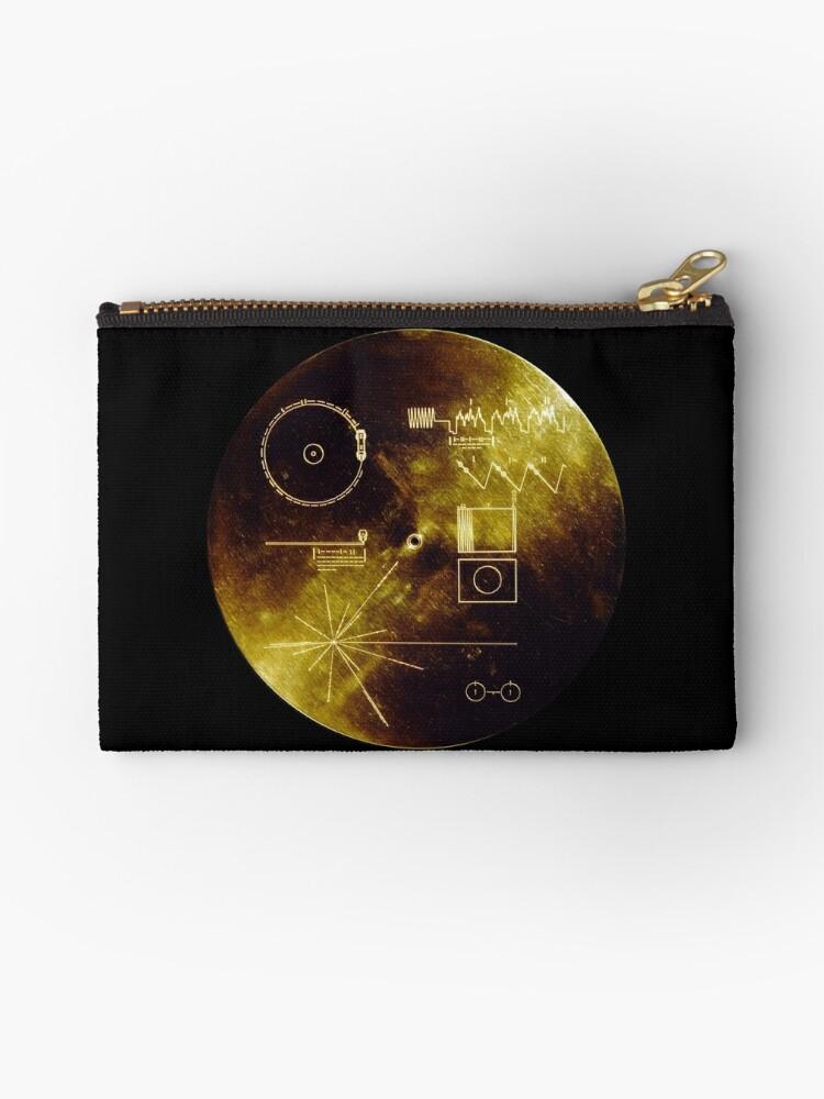 Voyager Goldene Schallplatte von Upbeat