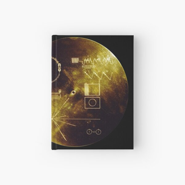 Voyager Golden Record Hardcover Journal