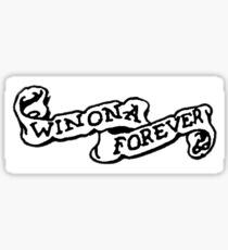 WINONA FOREVER  Sticker