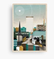 Digbeth In Tangent Canvas Print