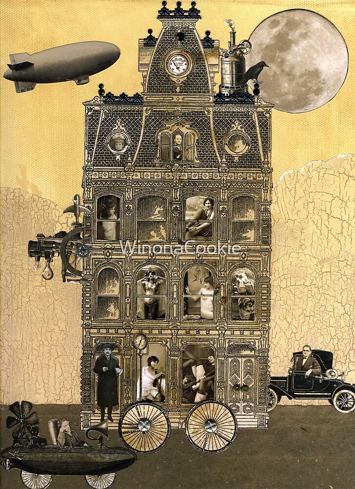 Zora Lavinski's Moving Rooming House by WinonaCookie
