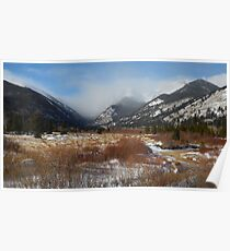 Rocky Mountain Mornings Poster