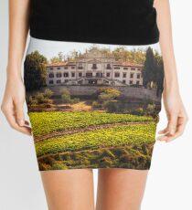 Tuscany Mansion - Italy Mini Skirt