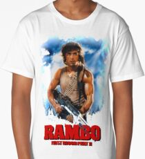 rambo - flutters. A mushroom slips the bricks of the drive. It wants Long T-Shirt
