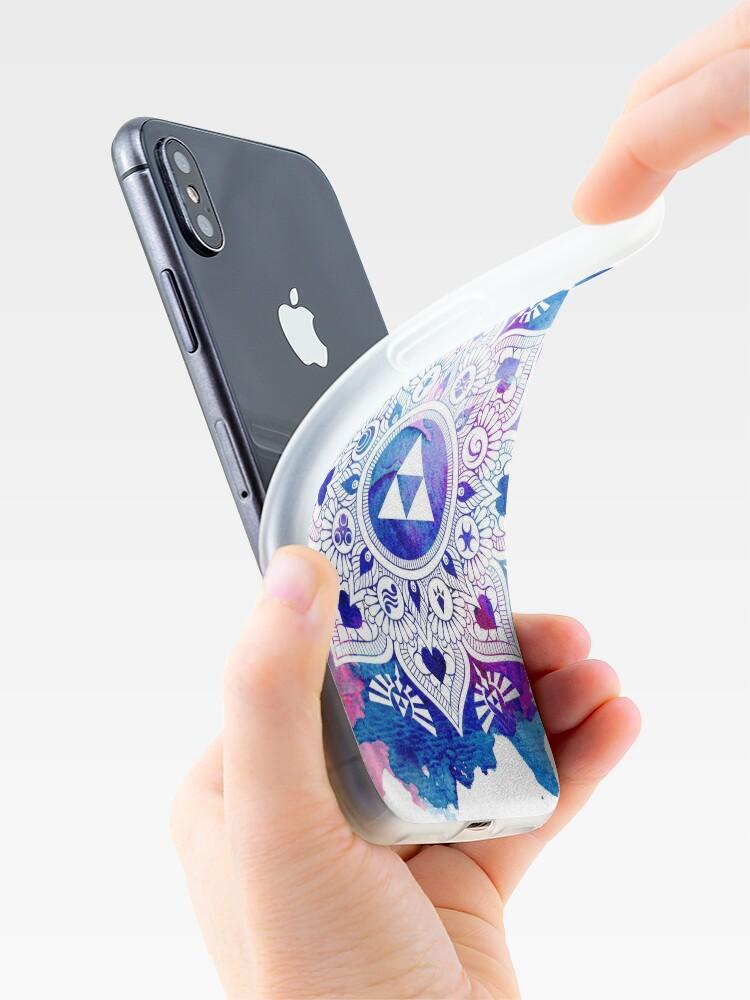 Alternative Ansicht von Die Legende eines Zelda Mandala iPhone-Hülle & Cover