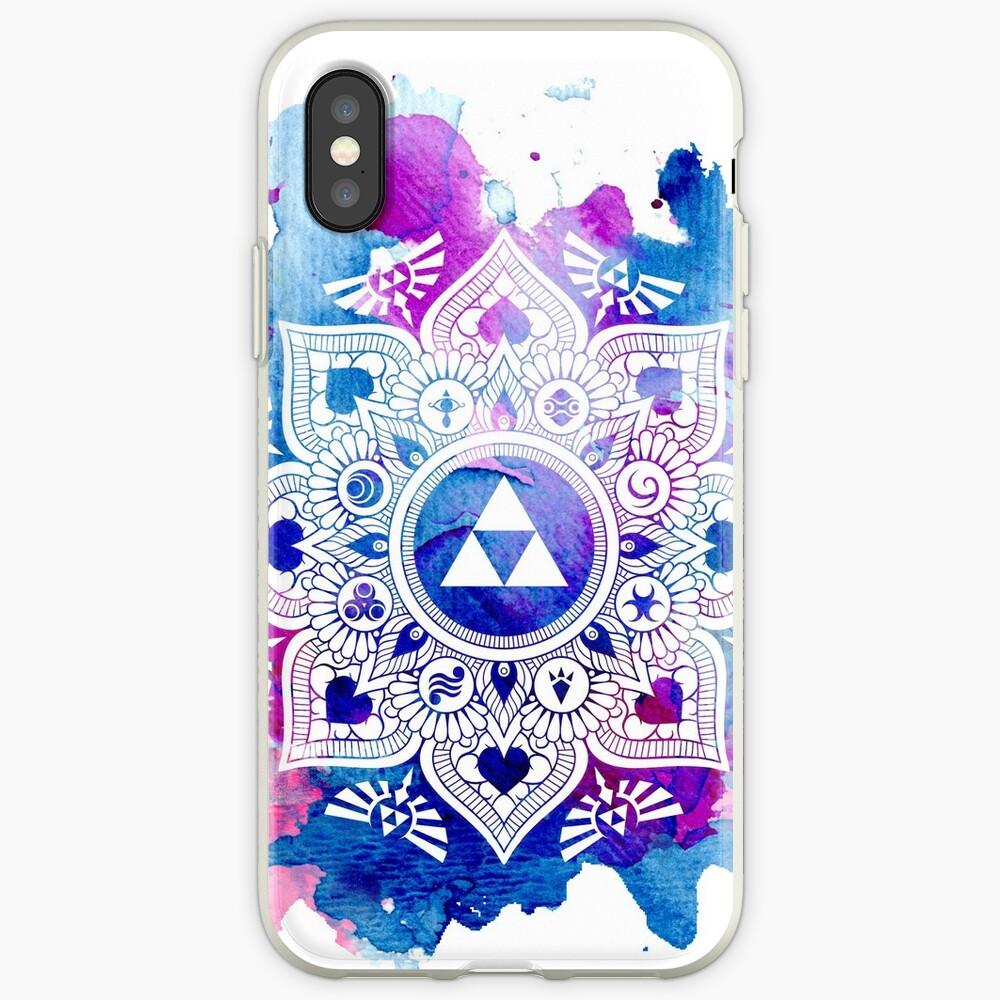 La leyenda de un Zelda Mandala Vinilos y fundas para iPhone