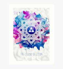 The Legend of a Zelda Mandala Art Print