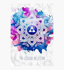 The Legend of a Zelda Mandala Photographic Print