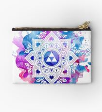 The Legend of a Zelda Mandala Zipper Pouch