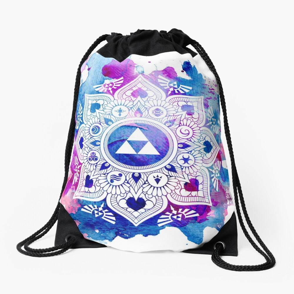Die Legende eines Zelda Mandala Turnbeutel