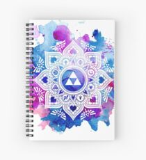 The Legend of a Zelda Mandala Spiral Notebook