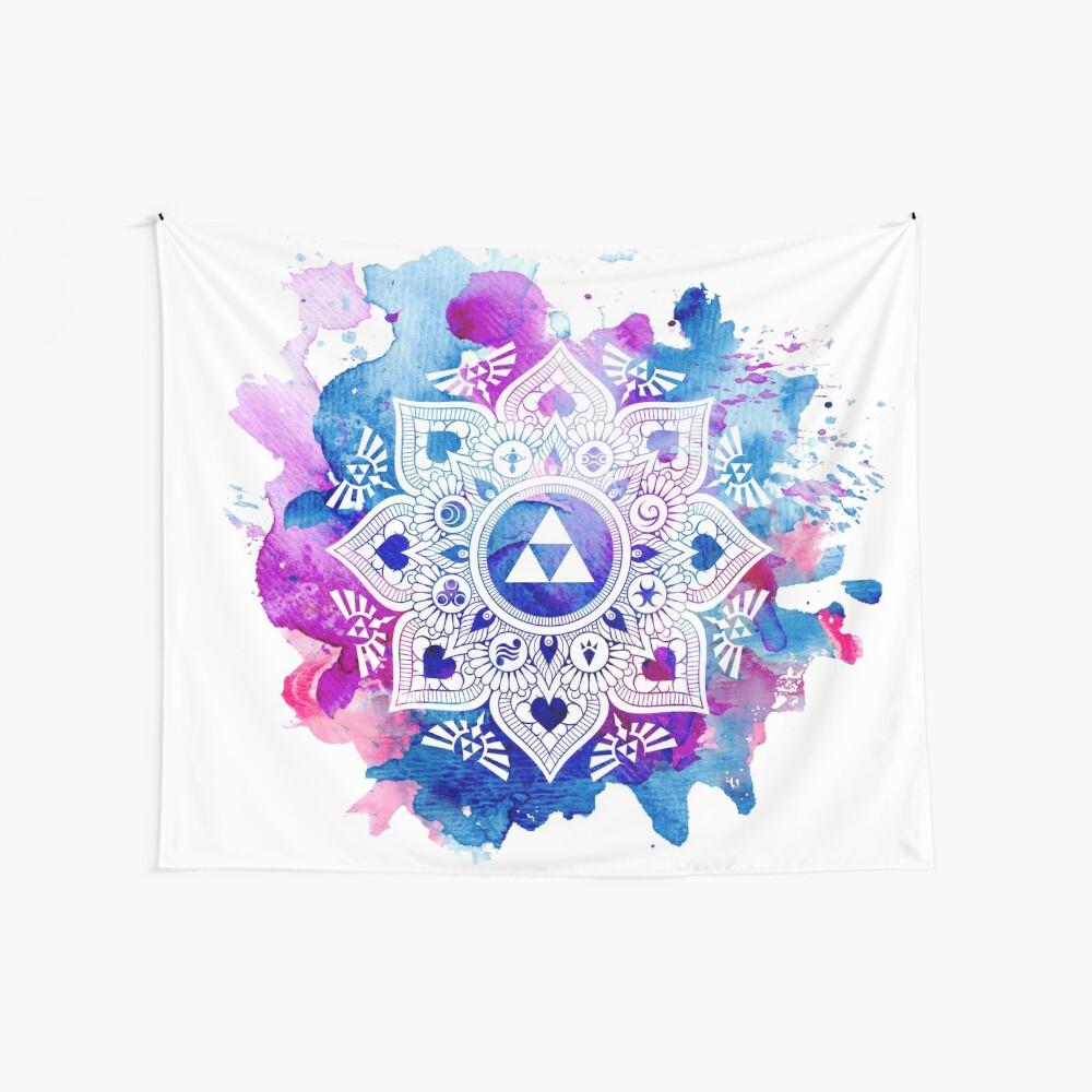 Die Legende eines Zelda Mandala Wandbehang