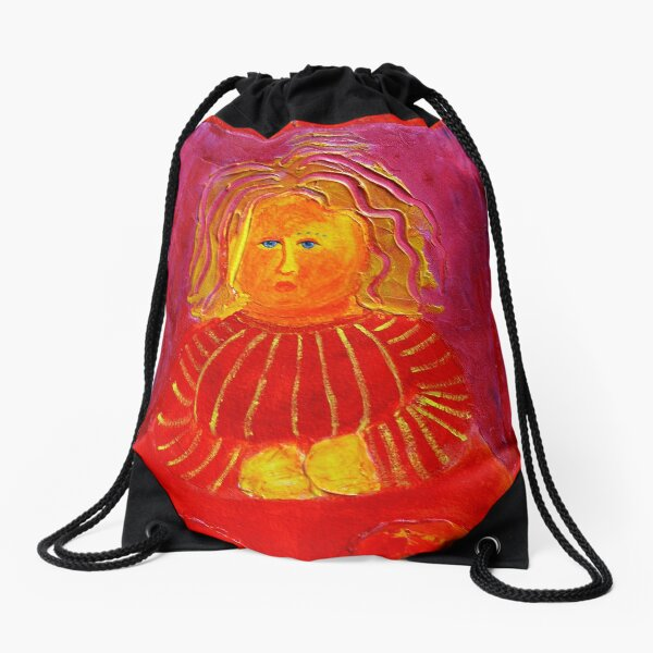 I have been very worried lately. Drawstring Bag