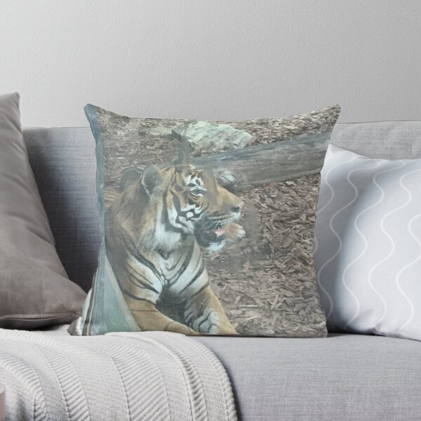 Wild Collection Throw Pillow