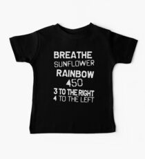 Breathe Sunflower Rainbow Kids Clothes