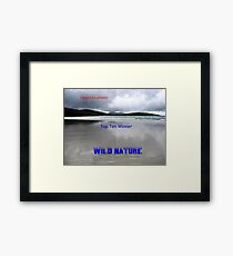 Wild Nature - Top Ten Banner Framed Print