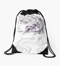 Disconnected. #printart Drawstring Bag