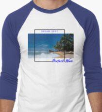 Perfect Wave Men's Baseball ¾ T-Shirt