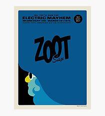 Zoot Poster  Photographic Print