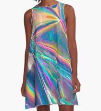 Holographic A-Line Dress