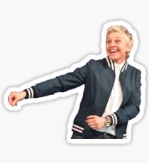 Ellen Dancing Sticker