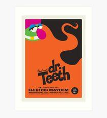 Dr. Teeth Poster Art Print