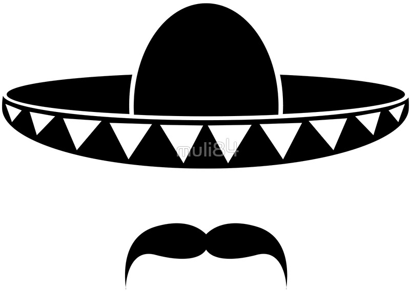 Maracas And Sombrero Coloring Page Free Printable Pages