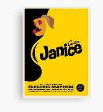 Janice Poster Canvas Print