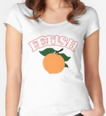 Selena Gomez - Fetish (Peach) Women's Fitted Scoop T-Shirt