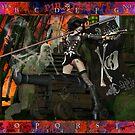 Pirate Ghost Witch Necronomicon Divination Board by MARDUN