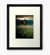 Lake Bled, Slovenia Framed Print