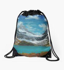 Mount Assiniboine Drawstring Bag