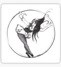 Round In Circles Sticker