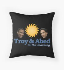troy -  Boys conch with crimson Hollywood carpets that disentangle Throw Pillow