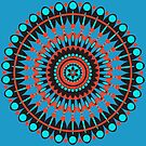 Native American Mandala by FrankieCat