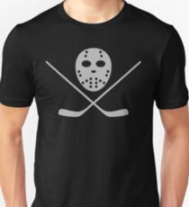 Hockey mask and bat Unisex T-Shirt