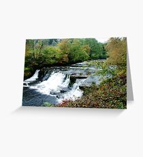 Aysgarth Falls Greeting Card