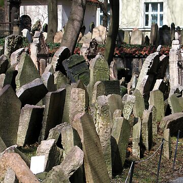 Old Jewish Cemetery (Prague) by gili