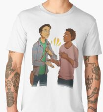 troy and abed - the morning show funny Men's Premium T-Shirt