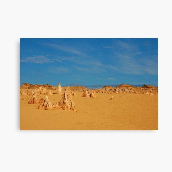 Pinnacles Canvas Print
