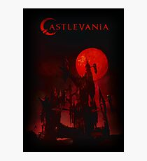 castlevania - castle of vampire and dracula Photographic Print