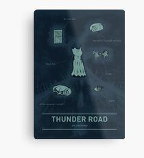 Thunder Road: An anatomy Metal Print