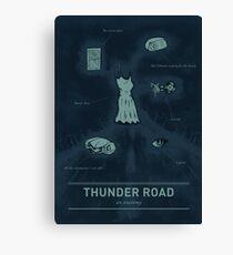 Thunder Road: An anatomy Canvas Print