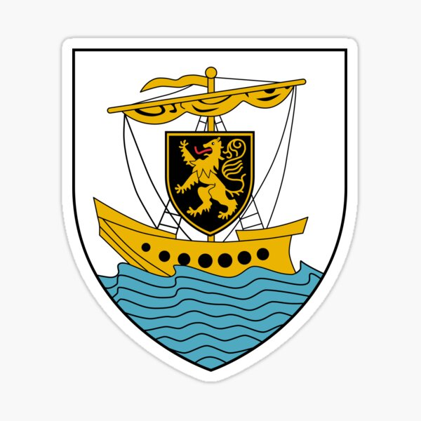 Galway (city) Coat of Arms, Ireland Sticker