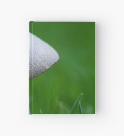 A Wee Little Mushroom Hiding in the Grass Hardcover Journal