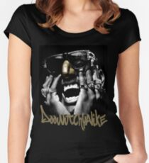 Doowutchyalike Women's Fitted Scoop T-Shirt