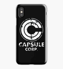 CAPSULE CORP iPhone Case/Skin