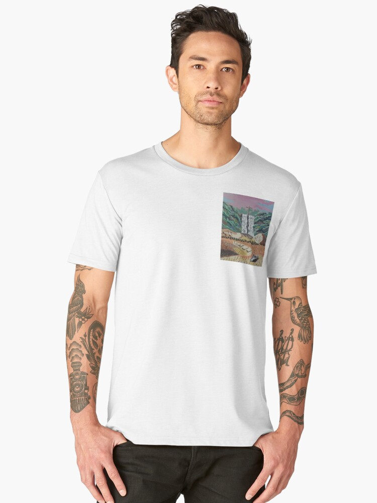 Living Water Men's Premium T-Shirt Front