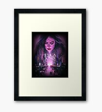 jessica jones - the super hero web series Framed Print