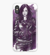 jessica jones - the super hero web series iPhone Case/Skin